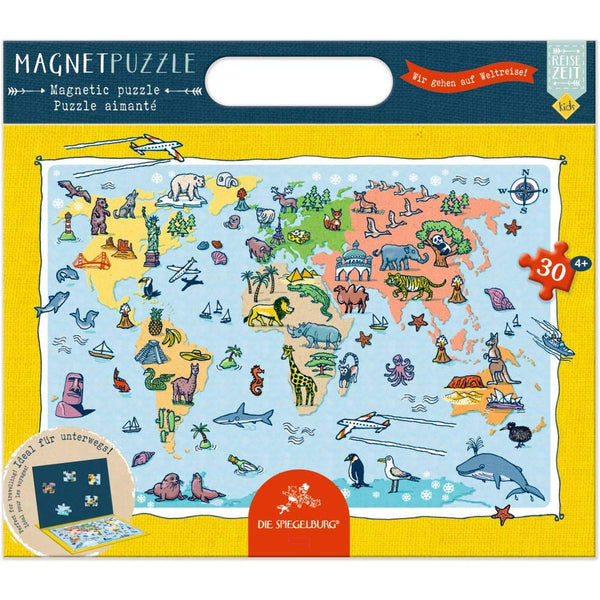 Magnetic Puzzle - Travel time Kids