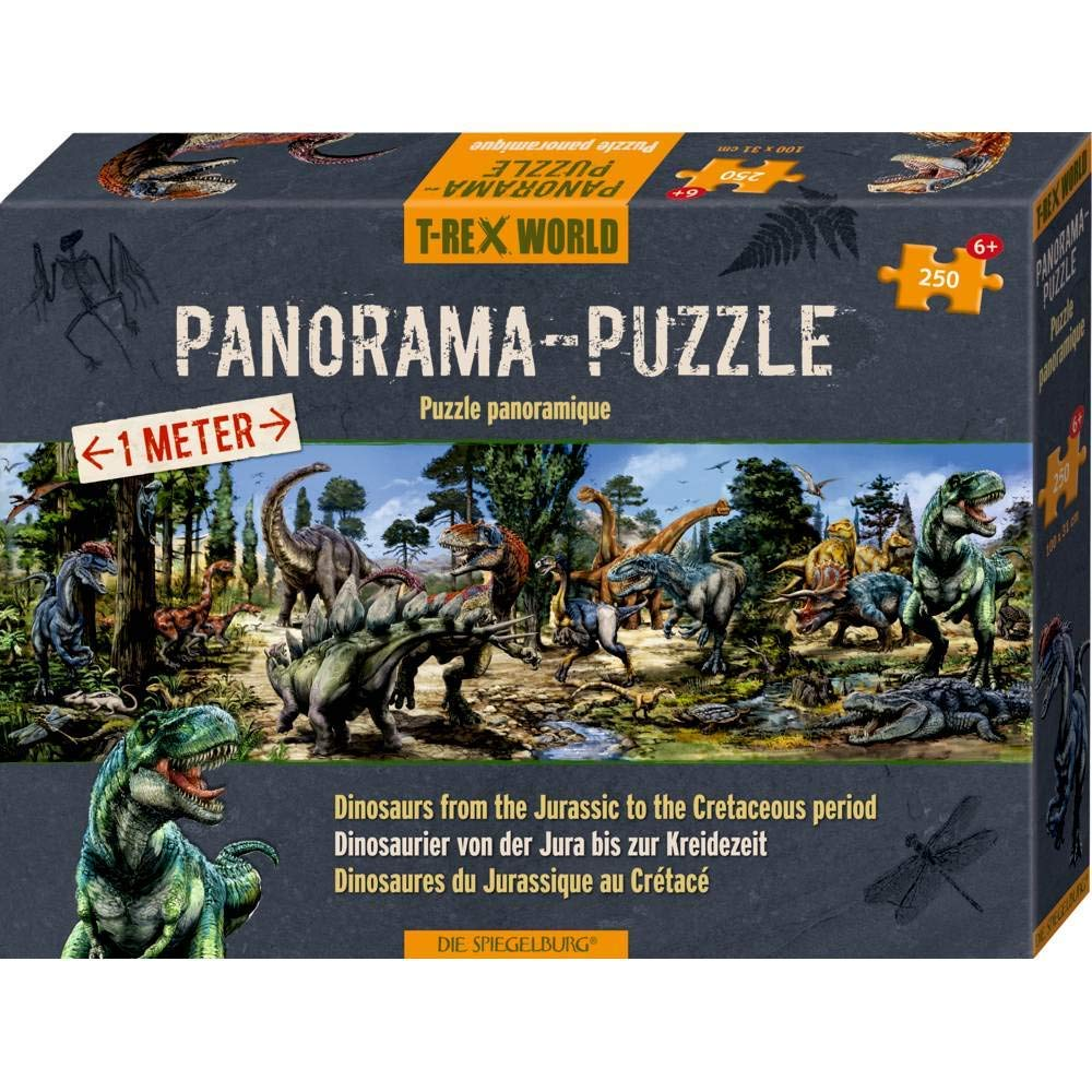 Panorama Puzzle - T-Rex World