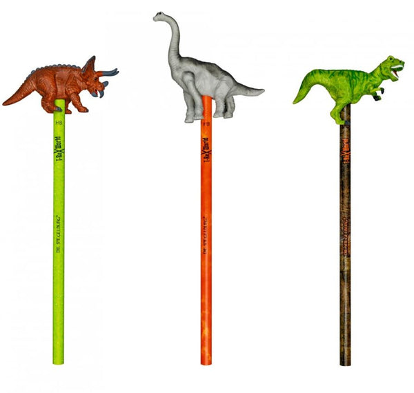 Pencil with topper - Dinosaurs