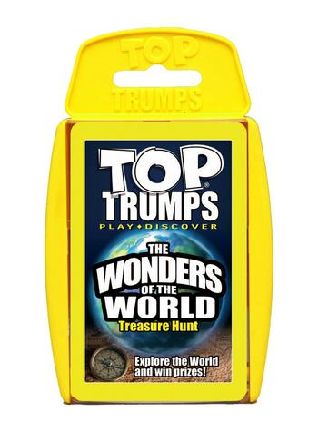 Top Trumps - Wonders of the World