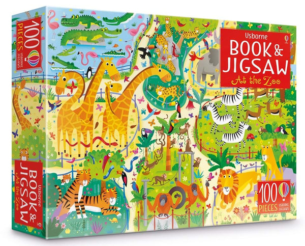 Book and Jigsaw - At the Zoo