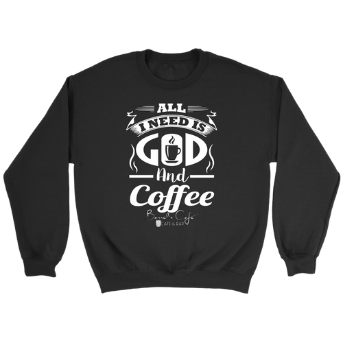 GOD & COFFEE SWEATER