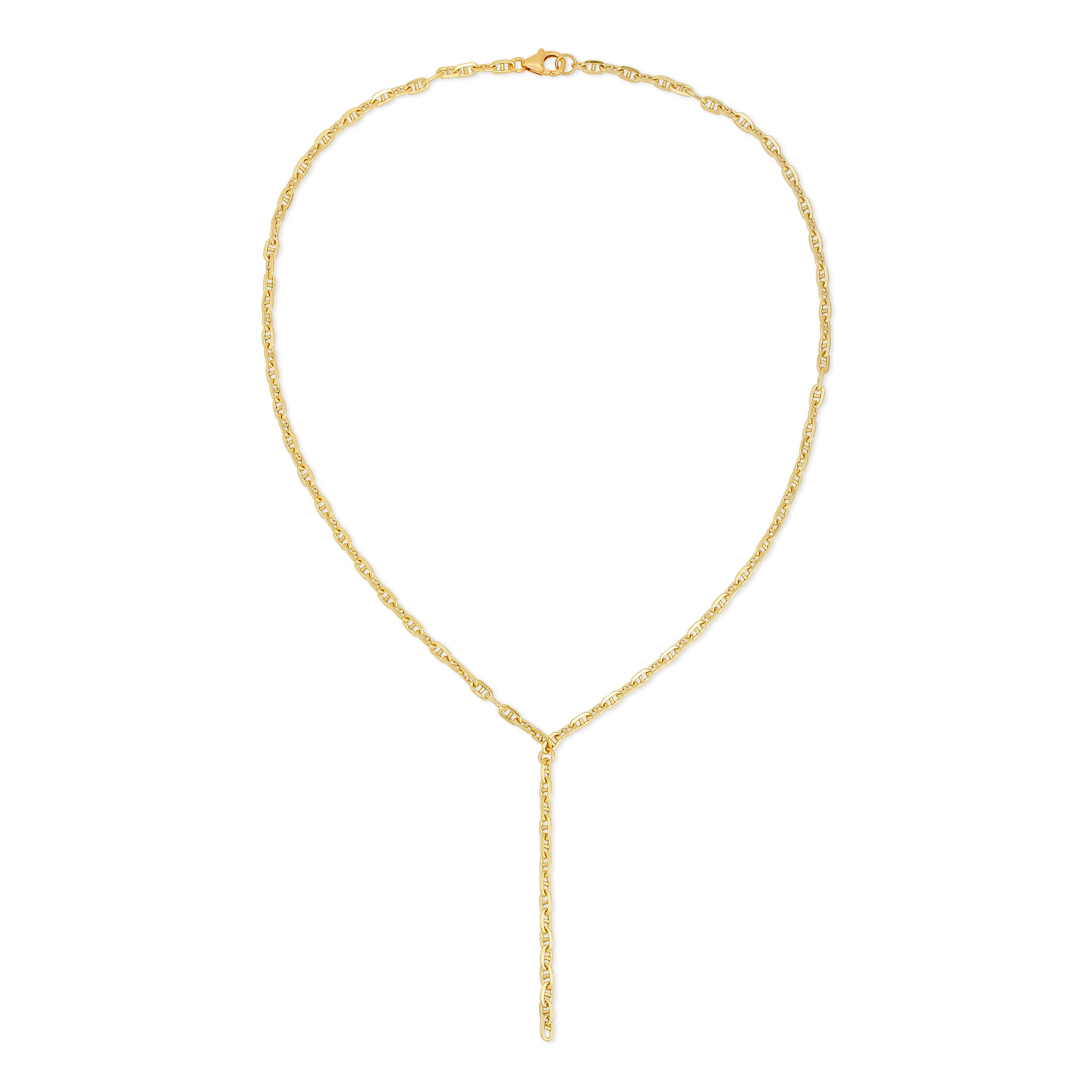 Gold Gucci Chain Necklace
