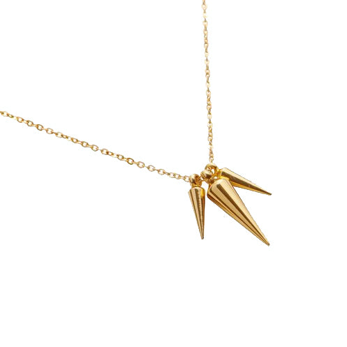 Be Feisty Spike Necklace