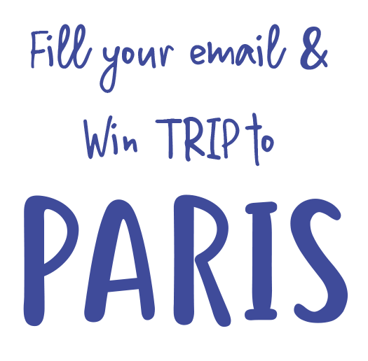 Insert your e-mail for trip to Paris