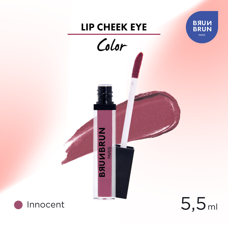 BRUNBRUN LIP CHEEK EYE COLOR INNOCENT