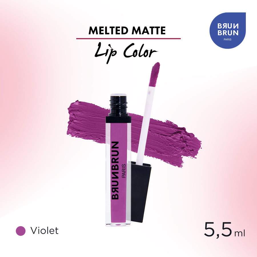 Melted Matte Lip Color Violet