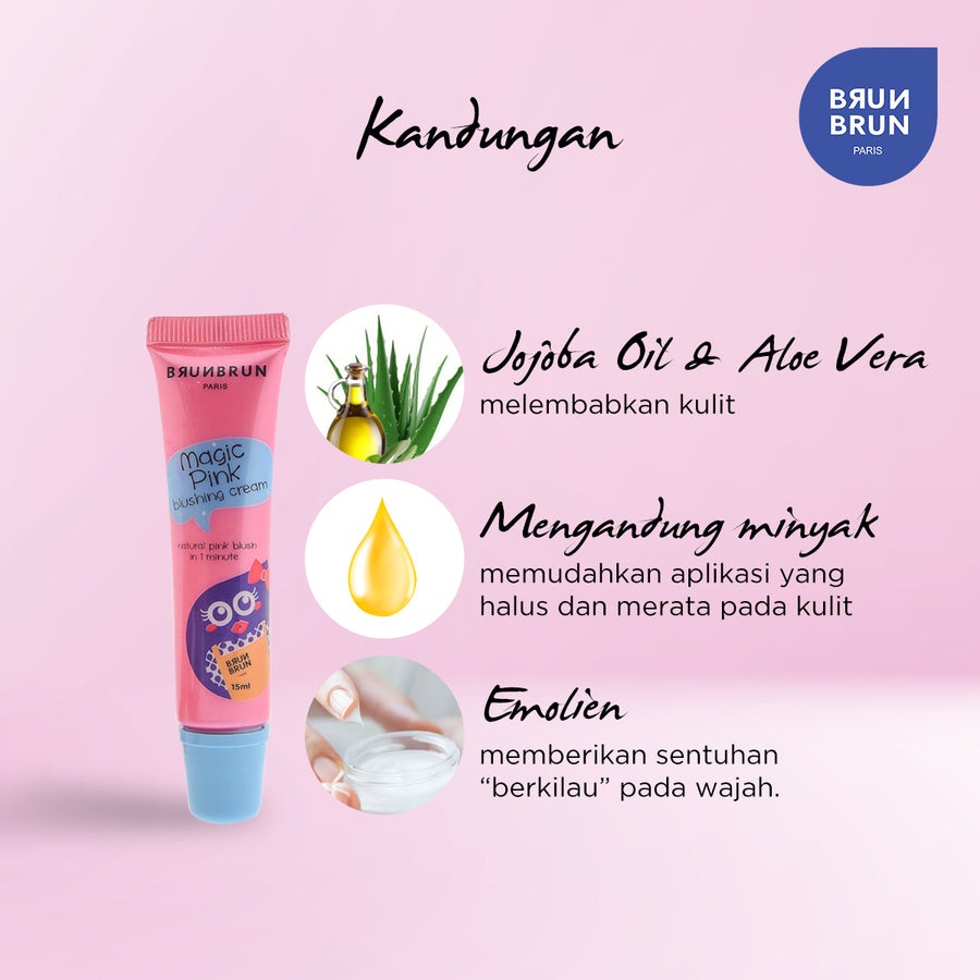 Magic Pink Blushing Cream - Limited Edition