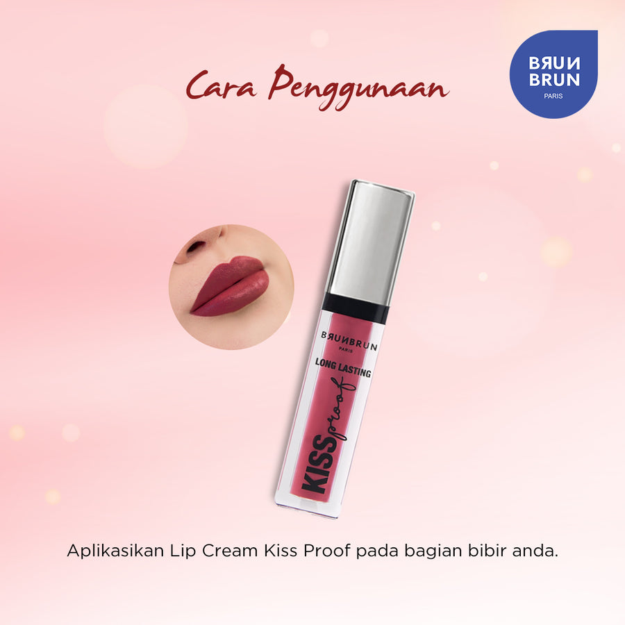 BRUNBRUN PARIS LIP - LONG LASTING KISS PROOF MILAN