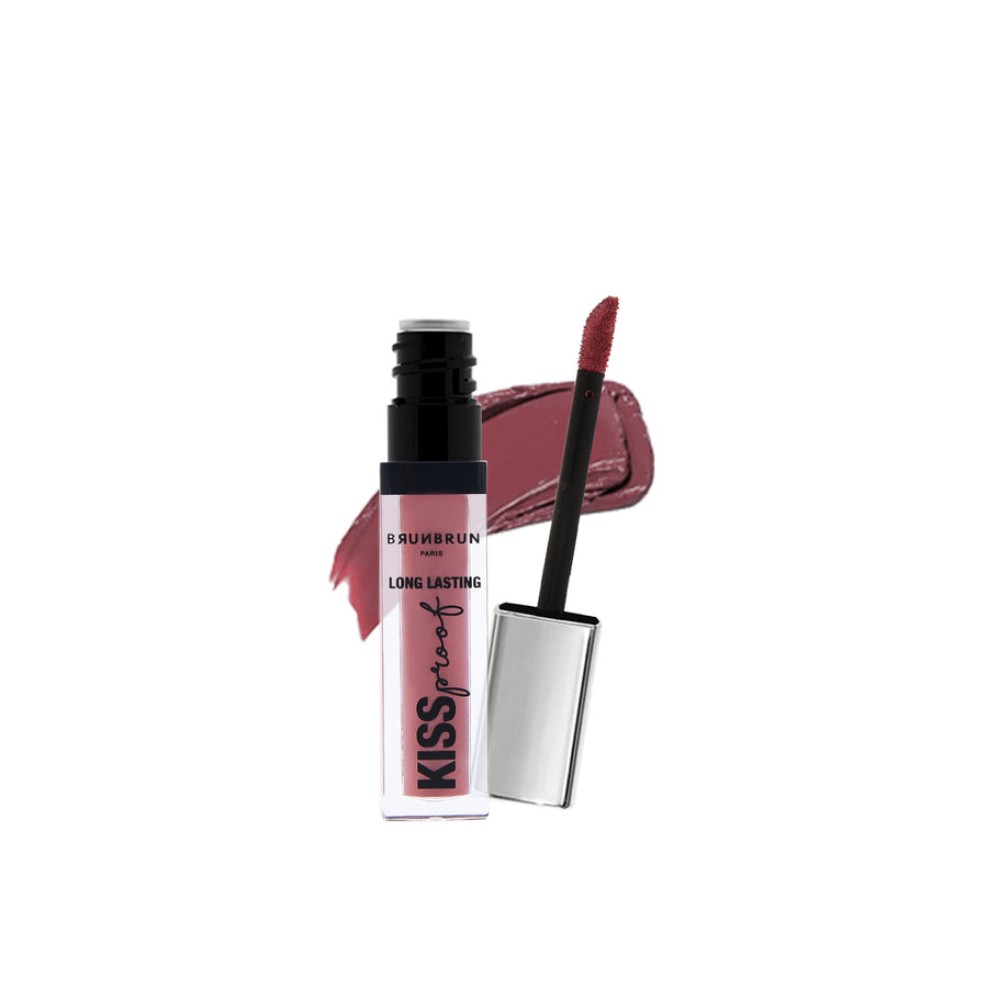 BRUNBRUN PARIS LIP - LONG LASTING KISS PROOF RIO