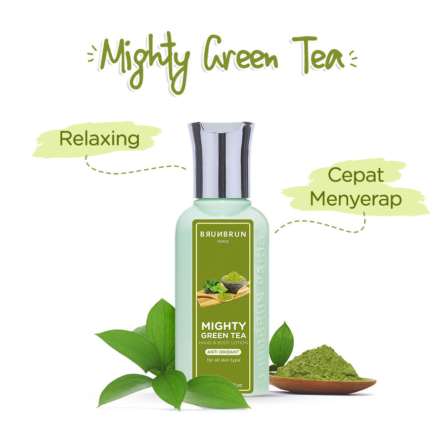 Mighty Green Tea Hand & Body Lotion Anti Oxidant (90 Ml)