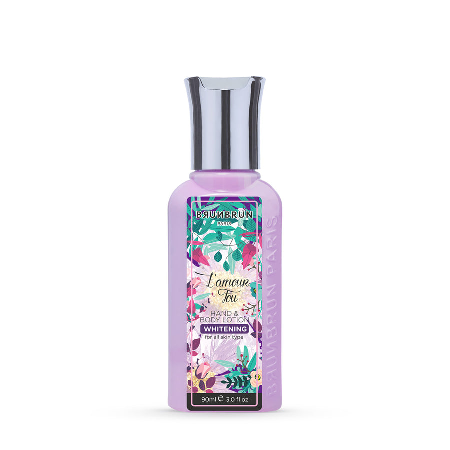 L'Amour Fou Hand & Body Lotion With Whitening (90 Ml)