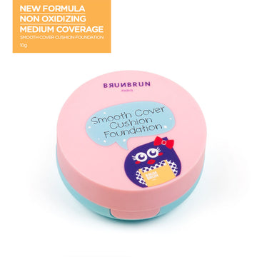 Smooth Cover Cushion Foundation Rosy Almond - LIMITED EDITION
