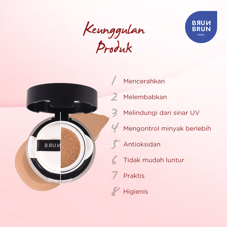 Smooth Cover Cushion Foundation Rosy Almond