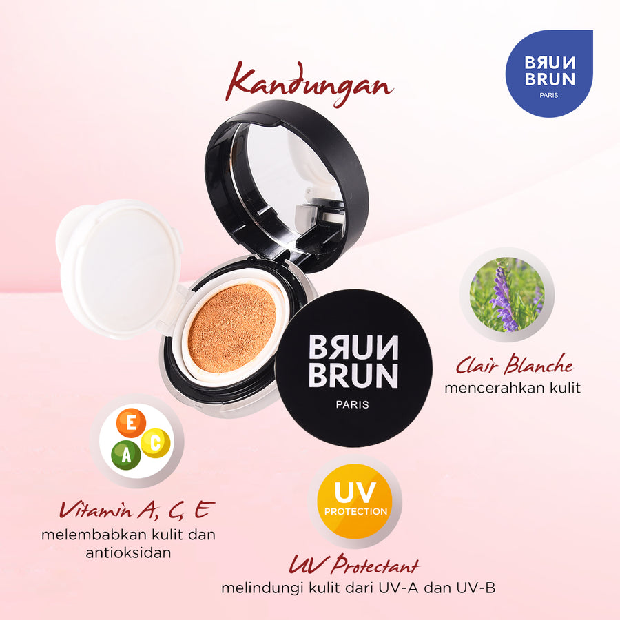 Smooth Cover Cushion Foundation Honey Beige