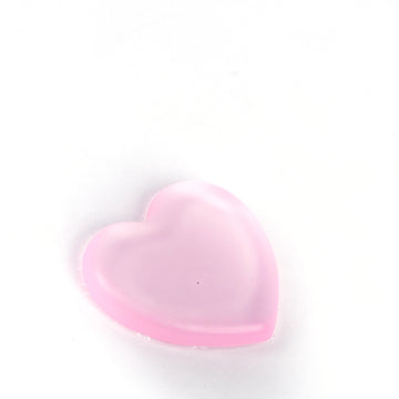 Transparent Sponge Love Shape