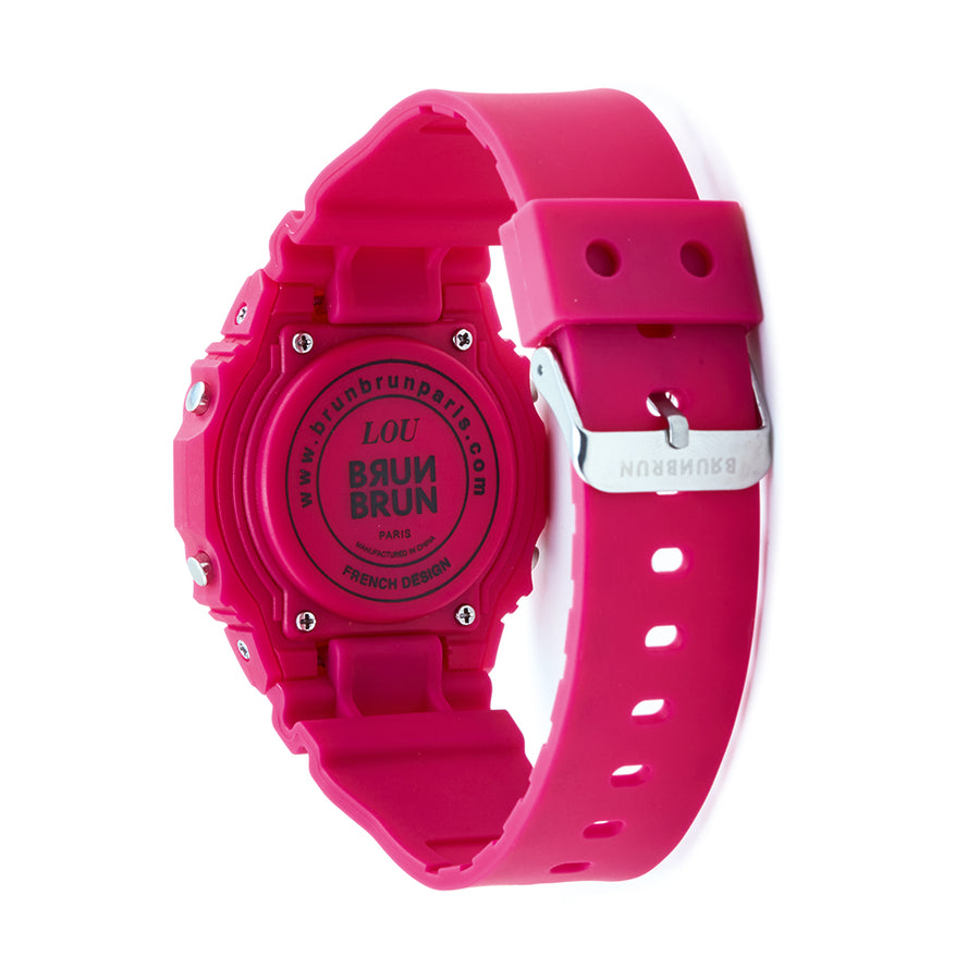 Lou Magenta Watch