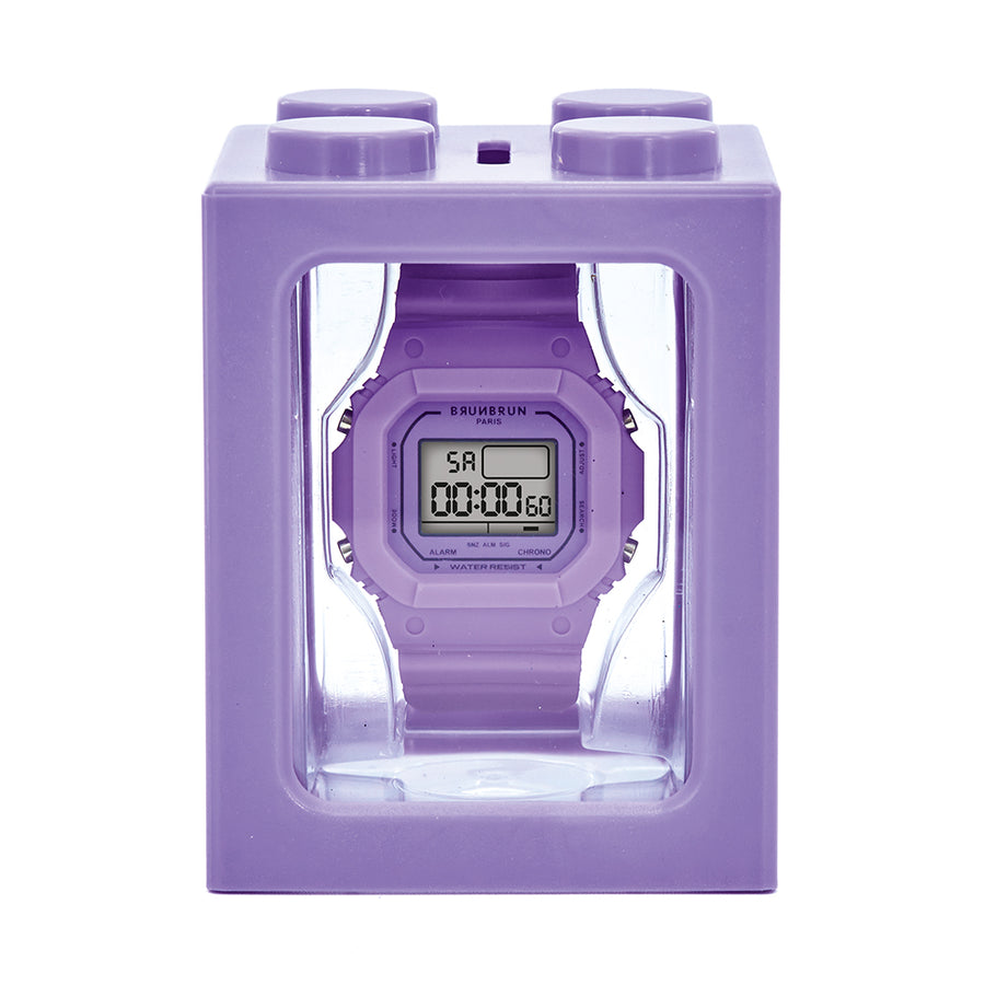 Lou Lavender Watch