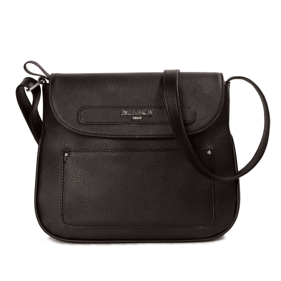 BRUNBRUN Paris Chalondar Black Bag
