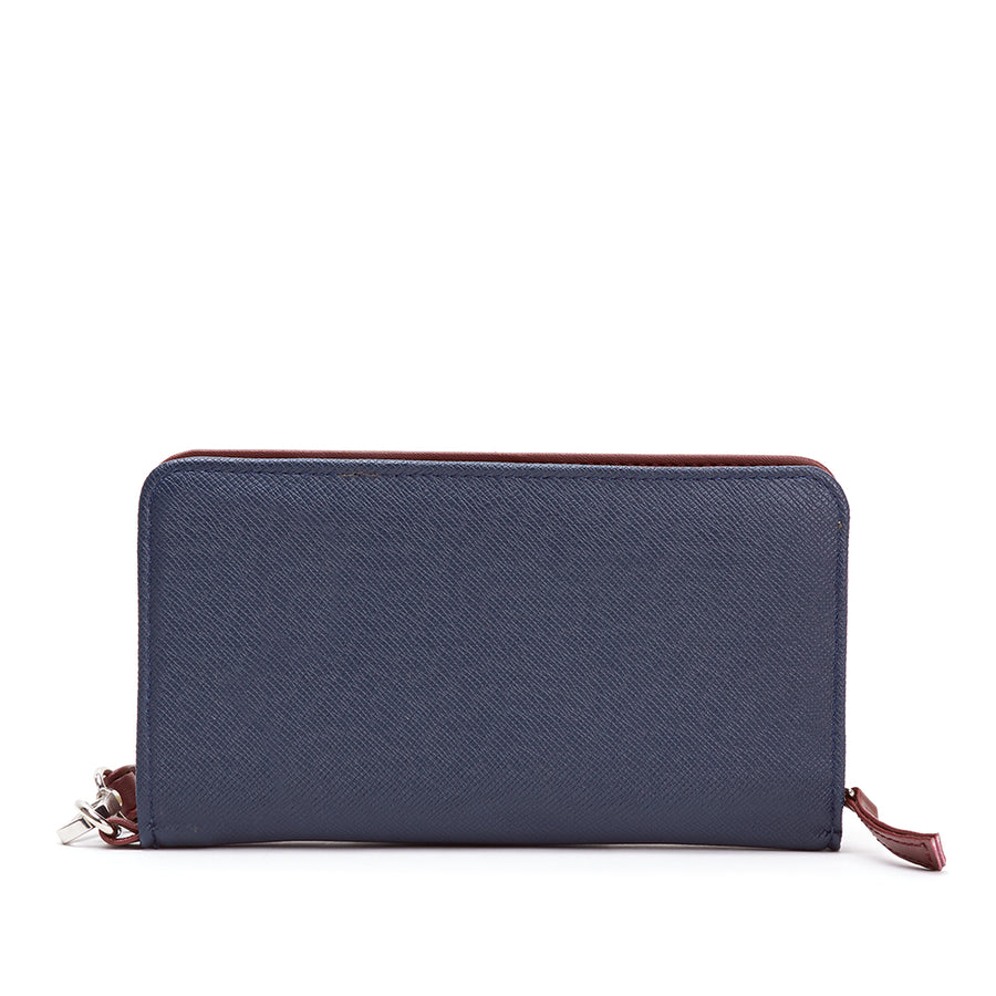 TIFFANY NAVY WALLET