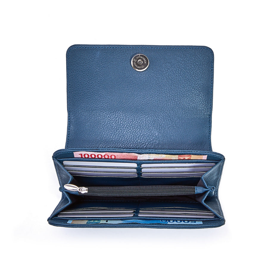 Marion Blue Wallet