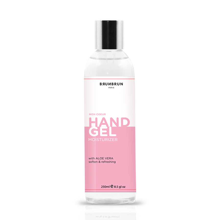 BRUNBRUN PARIS HAND GEL SANITIZER & MOISTURIZER 250 ML
