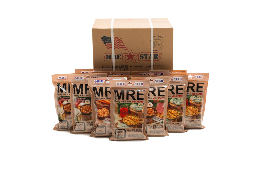 MRE's versus Freeze-Dried Foods. The Best Foods for Prepping in 2019.