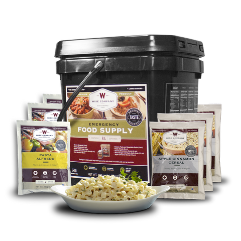Wise Food Company 01-184 1 month food Supply Bucket for 1 Adult or 4 adults for 1 week