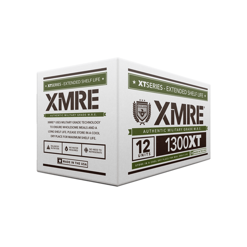 XMRE, XMRE MRE Meal Ready to Eat 1300XT - CASE OF 12 FRH - 12 MENUS, [product_sku], MySurvivalPrep.com