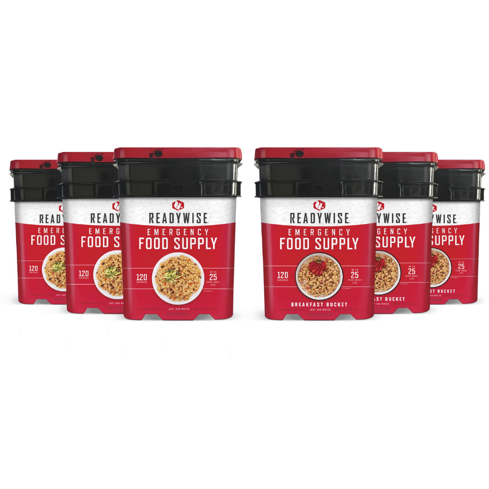 Ready Wise, Ready Wise - 3 month Food Supply for 4 Adults (40-40720), [product_sku], MySurvivalPrep.com