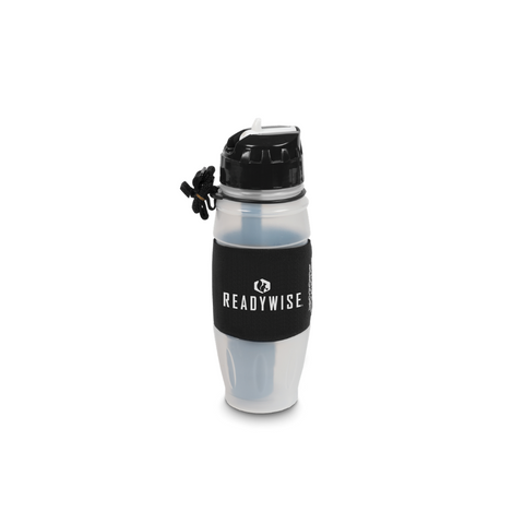 ReadyWise Water Bottle Powered by Seychelle