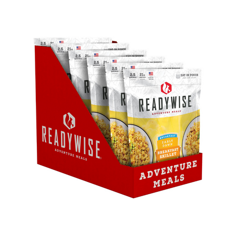 ReadyWise 2x6pack CT Case Early Dawn Egg Scramble