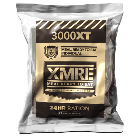 Image of XMRE, XMRE MRE Meal Ready to Eat XMRE 3000XT 24 HR - CASE OF 6 MEALS FRH, [product_sku], MySurvivalPrep.com