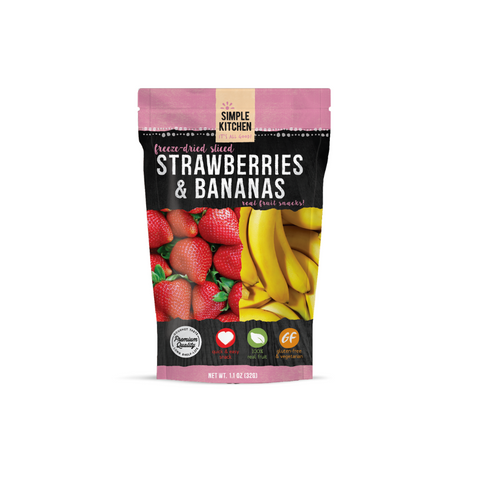 ReadyWise 6 2xpack CT Case Simple Kitchen Strawberries & Bananas
