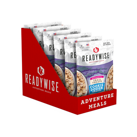 ReadyWise 2x6pack CT Case Trail Treats Cookie Dough