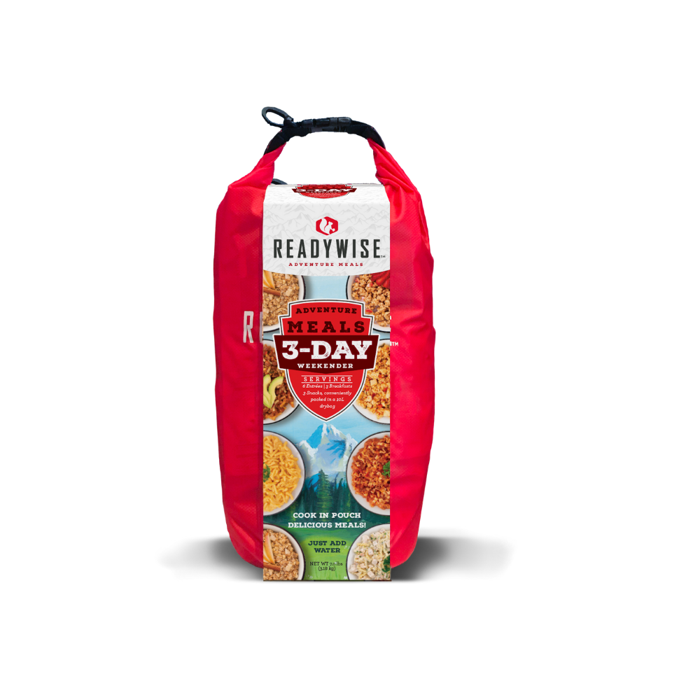 ReadyWise 3 2xpack Day Weekender Kit with Dry Bag