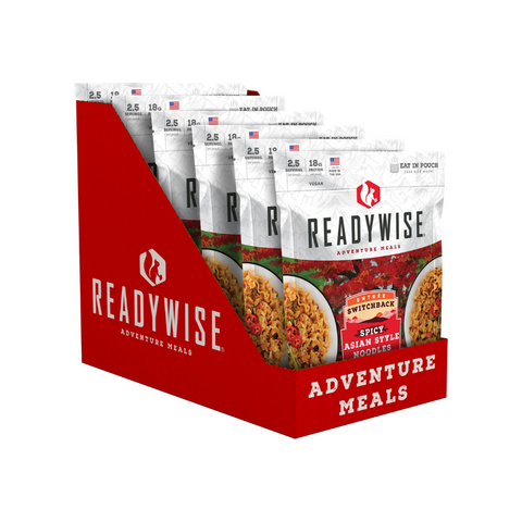 ReadyWise 2x6pack CT Case Switchback Spicy Asian Style Noodles