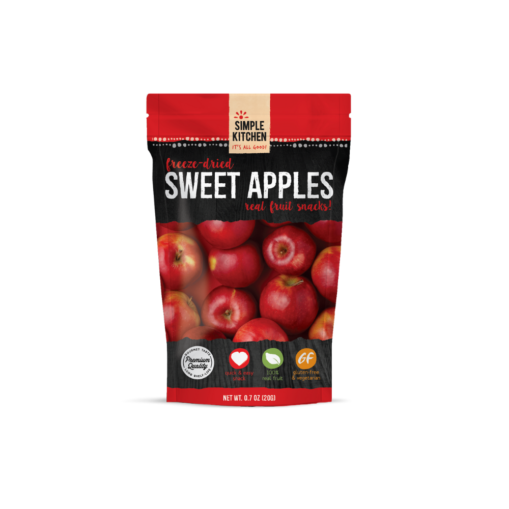ReadyWise 6 2xpack CT Case Simple Kitchen Sweet Apples