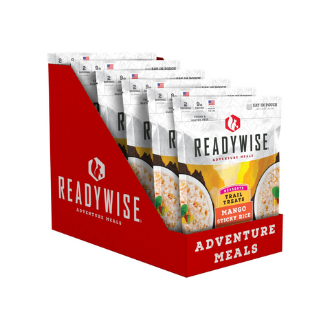 ReadyWise 2x6pack CT Case Trail Treats Mango Sticky Rice