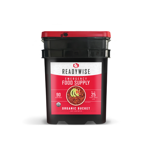 ReadyWise 90 Serving Organic Bucket