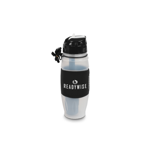 ReadyWise  2x Filtering Water Bottle Powered by Seychelle 08-000