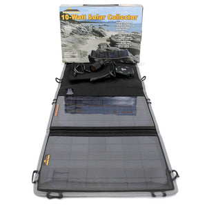 MayDay, Mayday 10 Watt Solar Panel Collector w/ Controller in hard case., [product_sku], MySurvivalPrep - MySurvivalPrep