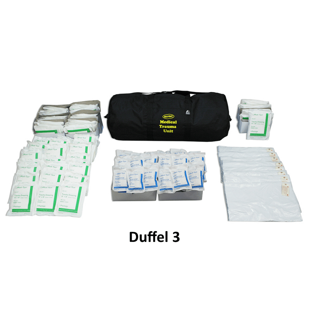 MayDay, Mayday Multi-person Trauma Medical Unit (500 Person), [product_sku], MySurvivalPrep - MySurvivalPrep