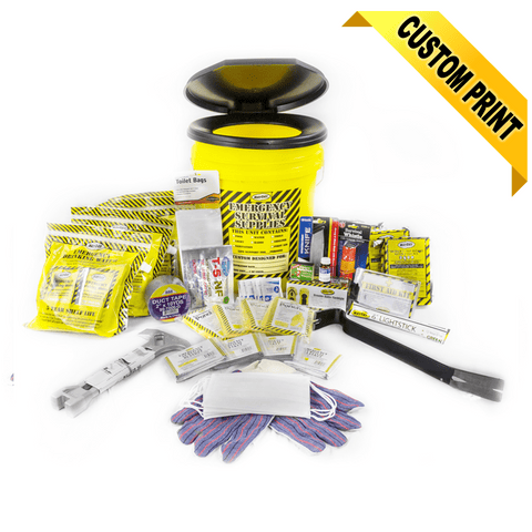 Image of MayDay, Mayday Deluxe Emergency Honey Bucket Kits 4 Person Kit, [product_sku], MySurvivalPrep.com