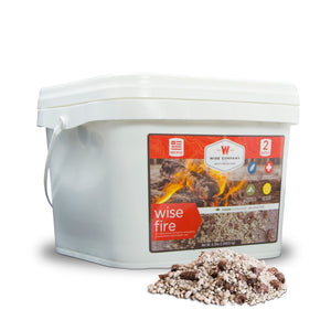 Wise Food Company, Wise Food Company - Wise Fire - 2 Gallon Bucket 01-621ISF, [product_sku], MySurvivalPrep - MySurvivalPrep