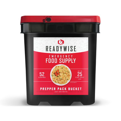 Ready Wise Prepper Pack Freeze Dried Emergency Food & Drink Storage (52 Serving) RW01-152, [product_sku], MySurvivalPrep.com