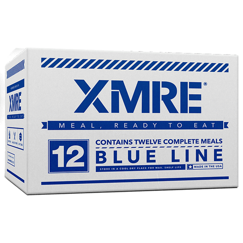 XMRE, XMRE MRE Meal Ready to Eat XMRE BLUE LINE - CASE OF 12, [product_sku], MySurvivalPrep.com