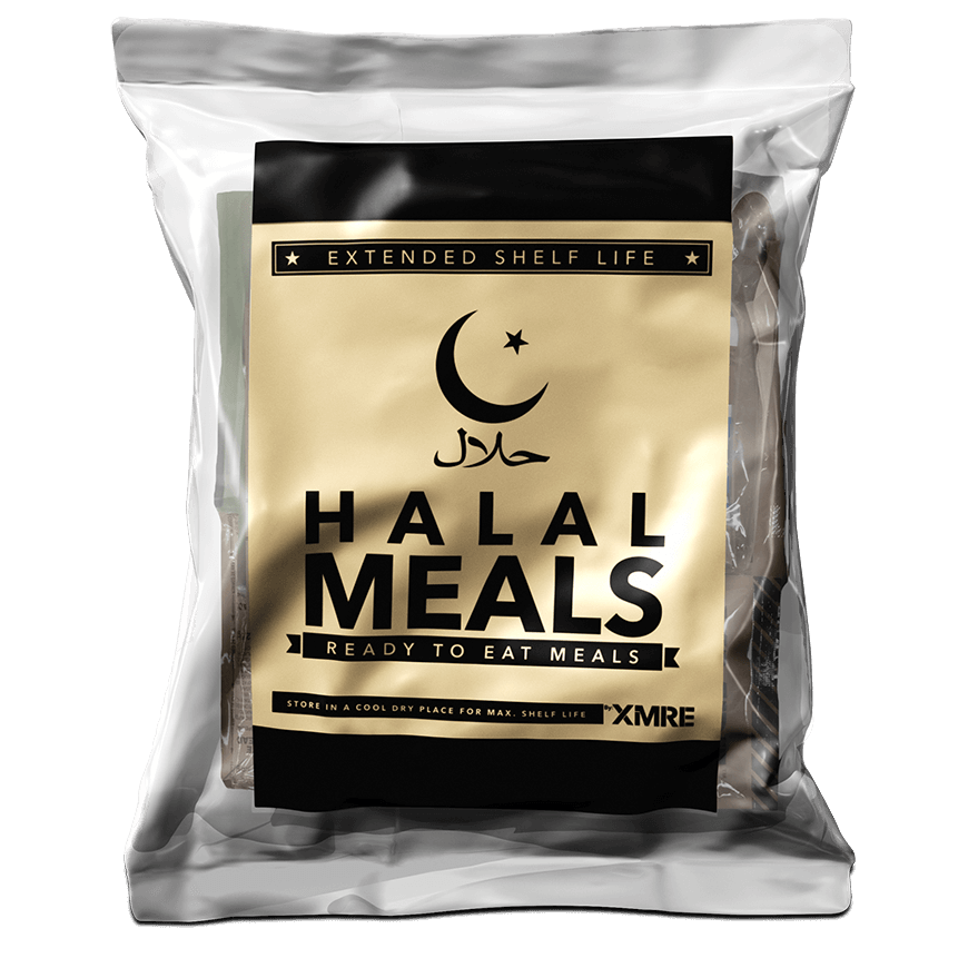 XMRE, XMRE MRE Meal Ready to Eat HALAL 24HR STANDARD CASE OF 6 FRH, [product_sku], MySurvivalPrep.com