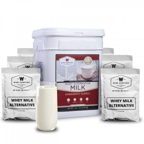 Ready Wise, Ready Wise  Emergency Freeze Dried powdered milk (120 Serving) for 4 Adults MK01-120, [product_sku], MySurvivalPrep.com