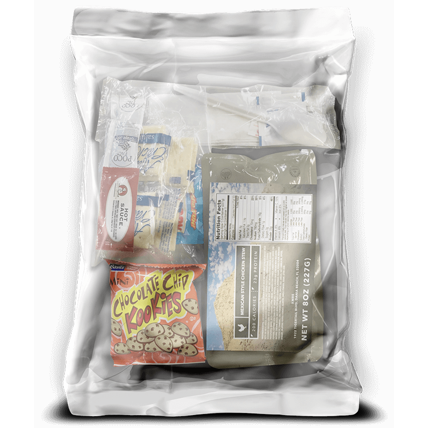 XMRE, XMRE MRE Meal Ready to Eat LITE MRE - CASE OF 12 FRH with heater, [product_sku], MySurvivalPrep.com